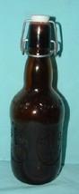 Grolsch 16 Oz. Amber Glass Lager Beer Bottle - Ceramic Cap - $16.99