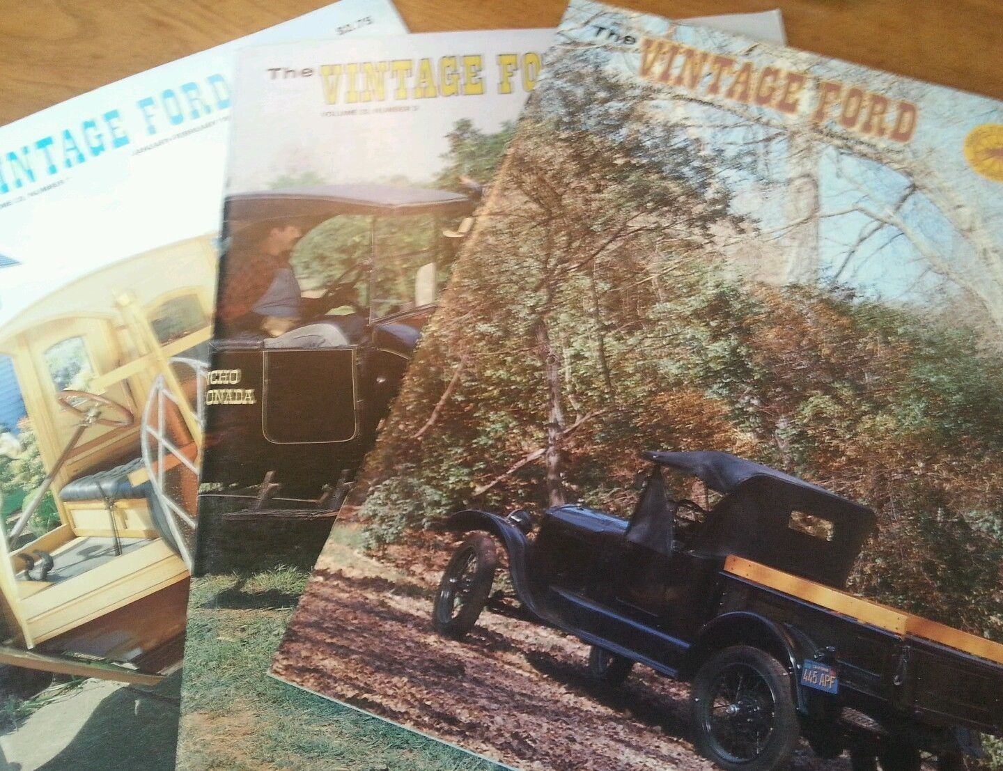 "Primary image for Lot of 3 The Vintage Ford Magazines 1988 Model ""T"" Club*"