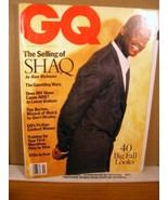 GQ (Gentleman's Quarterly) Magazine November 1993 Shaquille O'Neal - $8.99
