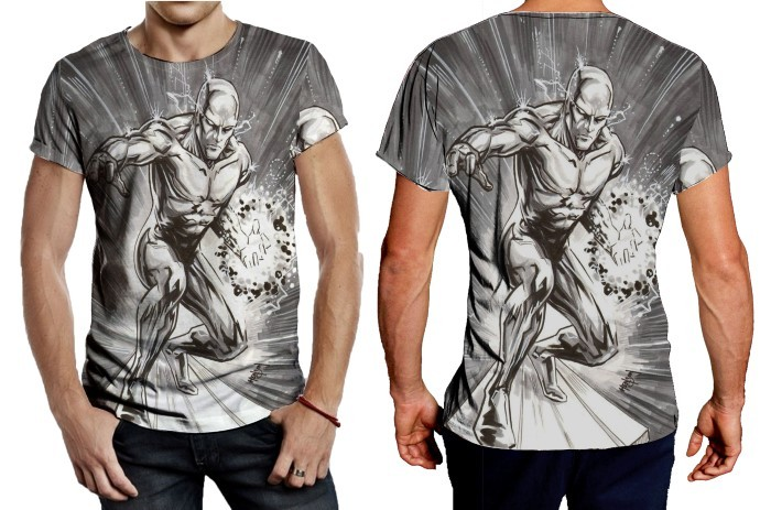 Primary image for Silver Surfer T SHIRT FOR MEN