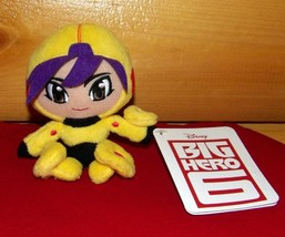 "Disney Bandai BIG HERO 6 Plush 5"" GO GO TOMAGO Looking for Home - $4.89"