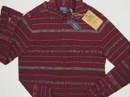 NWT! NEW! $165 Polo Ralph Lauren Southwestern Motif Aberdare Shirt!  XL - $89.99