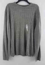 Weatherproof Men's Crewneck Knit Sweater Gray XL F65986ME - $16.99
