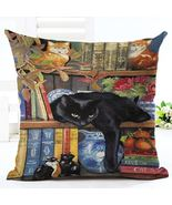 Cat Pillow Cover Cushion Cover - $8.75