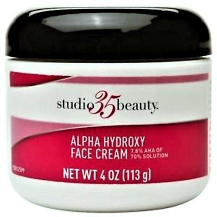 Studio 35 Beauty Alpha Hydroxy Acid Aha Face Cream 4oz Fresh Stock
