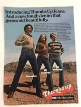 Thumbs Up Jeans Vtg 1977 Print Ad Sears The Mens Store - $9.89