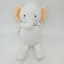 """15"""" Manhattan Toy Co Grayson Elephant White Tan Polka Dot Baby Plush  Ra... - $39.99"""