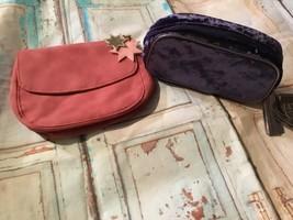 Ulta Cosmetic makeup clutch bag lot of 2 new - $6.79