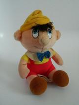 "Vintage Walt Disney 8"" Plush Pinocchio - $22.99"