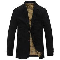 Solid Polyester Linen Sportcoat - $54.00