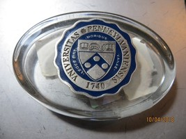 VNIVERSITAS PENNSYLVANIENSIS 1740 COLLEGIATE LICENSED paperweight - $14.25