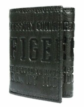 Tommy Hilfiger Men's Leather Credit Card Id Wallet Trifold Black 4565-1