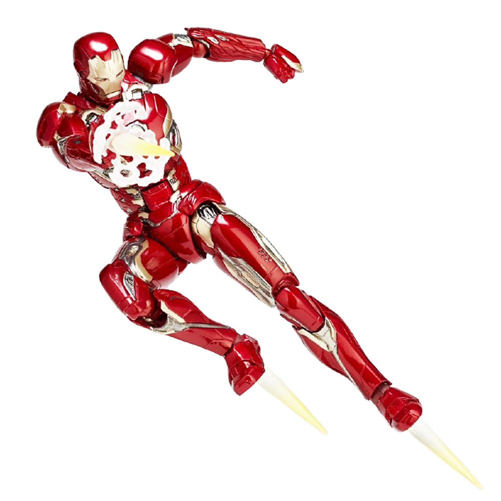 Hottoy Yamaguchi Iron Man MK45 Marvel Legends Avergens Model PVC Action Figure