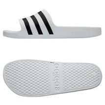 Adidas Adilette Aqua Slides Sandals Slipper White F35539 - $29.99+