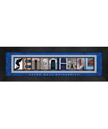 Seton Hall Officially Licensed Framed Campus Letter Art - $39.95