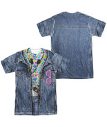 80's Levis jacket Allover Front Back Costume Halloween Outfit Uniform T-... - £23.40 GBP+