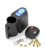 Alarm Anti Theft Lock with Wireless Remote Control Cycling Bicycle Bike ... - €13,57 EUR