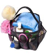 Mesh Shower Caddy Basket for College Dorm Room Essentials, Hanging Porta... - $17.56