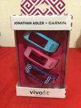 Jonathan Adler + Garmin Vivofit Acapulco Band Pink/Navy Blue/Baby Blue0101214933 - $15.00