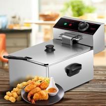 2500W Single Electric Deep Fryer with Basket Scoop Unit - €90,27 EUR