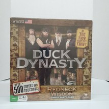 2013 Cardinal Duck Dynasty Redneck Wisdom Family Party Board Game Ages 10+ - $9.88
