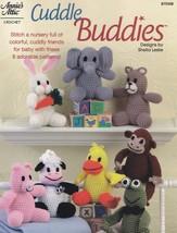 Cuddle Buddies, Annie's Attic Crochet Pattern Booklet 875508 RARE NEW - $24.95