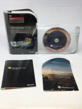 Microsoft Windows Vista Ultimate (UPGRADE) 32 & 64-Bit DVDs w/Product Key - $35.52