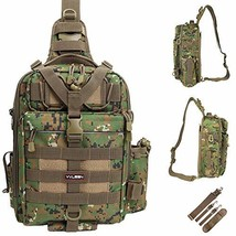 YVLEEN Fishing Tackle Backpack - (D:Large(14.17*10.24*4.72inch)-Camouflage) - $70.03