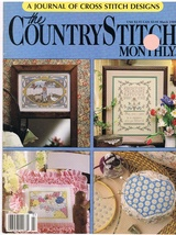 The Country Stitch Monthly Journal of Cross Stitch Designs Back Issue Ma... - $6.00