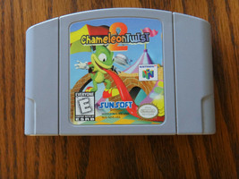 Chameleon Twist 2 Nintendo 64 Authentic Genuine N64 Video Game Cartridge... - $29.99