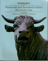 Sotheby's Auction Catalog Bull: 19th & 20th Century Decorative Arts 1989... - $26.25