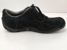 Merrell Womens US 6.5 Shoes Circuit Grid Comfort Black Suede Leather EU37 EUC image 6