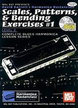 Mel Bay Scales, Patterns & Bending Exercises #1, Level 2, Book/CD Set (S... - $45.07