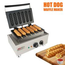 Hot Dog Waffle Maker Commercial 5PCS Lolly French Hotdog Sausage molds 110 - €221,44 EUR+