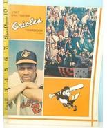 1967 Baltimore Orioles Baseball Yearbook American League - $24.75