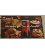 Betty Crocker's Festive Fixin's with a Foreign Flair,   GOOD COND - $3.95