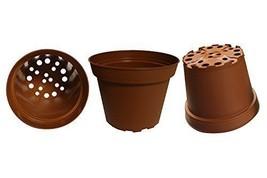 Plastic Nursery Pots 6 Inch Garden Plant Flower Sedlings Lot of 10 Conta... - ₹869.48 INR