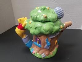 Disney Winnie The Pooh Tigger Piglet Ceramic Tea Pot House Harvest - $34.65