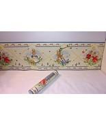 """Royal Doulton Bunnykins Bunny Wall Border Wallpaper 6.25"""" NEW Prepasted ... - $14.80"""