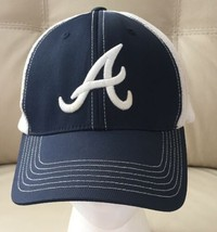 Alabama Crimson Tide Ncaa Blue And White Hat Mesh Back Adjustable - $15.88