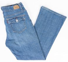Levis 512 Perfectly Slimming Bootcut Womens Jeans Button Flap Pockets Si... - $25.45