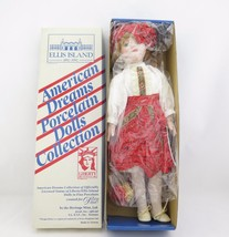 American Dream Porcelain Dolls Collection Sasha From Romania - $17.99