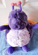 "Unipak Purple Plush Butterfly Plumpeez 12"" Tall - $6.09"
