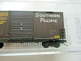 Micro-Trains # 10144060 Southern Pacific Weathered 40' Hy-Cube BoxCar N-Scale image 3