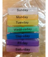 Pill Box Organizer: Handy Small Case for Each Day of The Week 7 Days and... - $11.87
