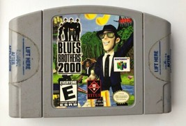 ☆ Blues Brothers 2000 (Nintendo 64 2000) AUTHENTIC N64 Game Cart Tested ... - $14.00
