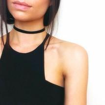 2018 Simple Vintage Black Velvet Choker Necklace Women Chokers Necklaces... - $9.39