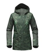 The North Face Women Green Cross Town Hooded Outdoor Ski Snowboard Jacke... - $111.99