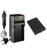 IA-BP-80W, Battery + Charger for Samsung SC-D381, SC-D382, SC-D383, SC-D... - $22.49