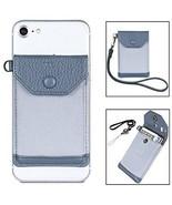FRIFUN Stick On Phone Wallet, Ultra-slim Self Adhesive Card Holder Cred... - $25.38